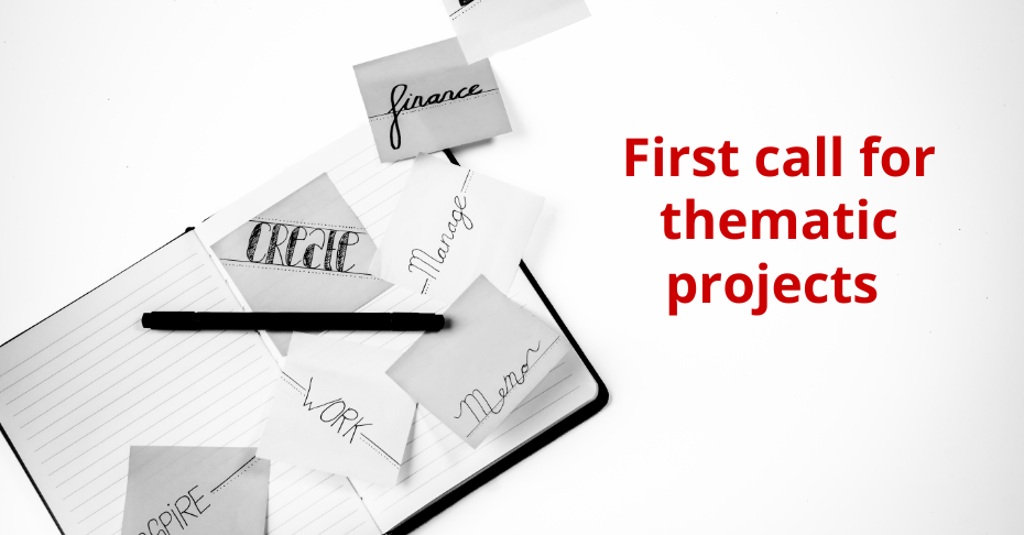 First call for thematic projects